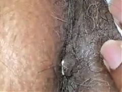 Sexy wife hairy asshole 1